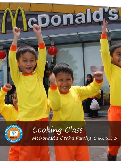 Cooking Class di McD graha Family 1